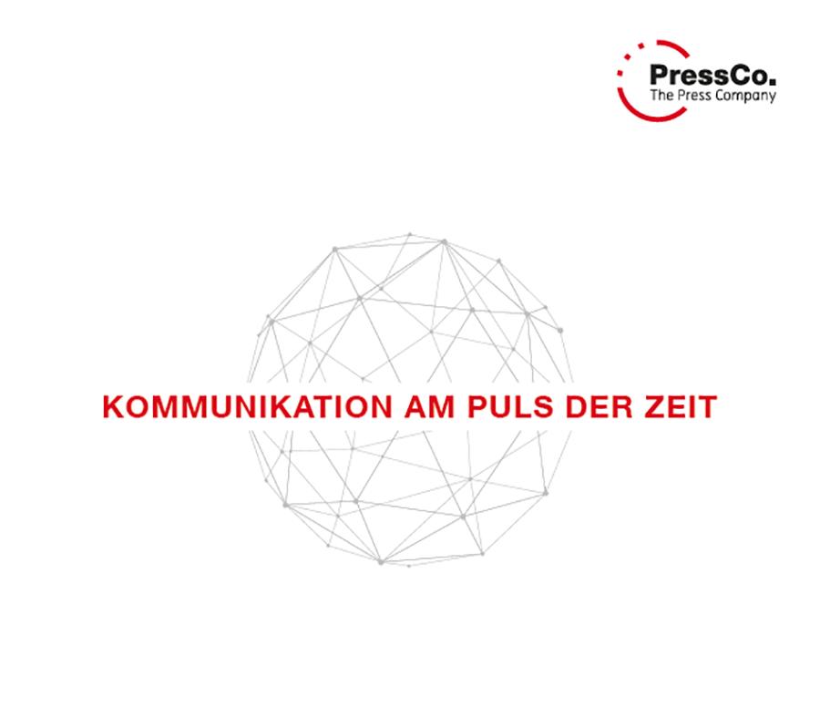 Grafik PressCo: Kommunikation am Puls der Zeit