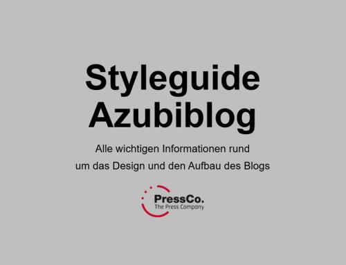 PressCo. Blog Styleguide