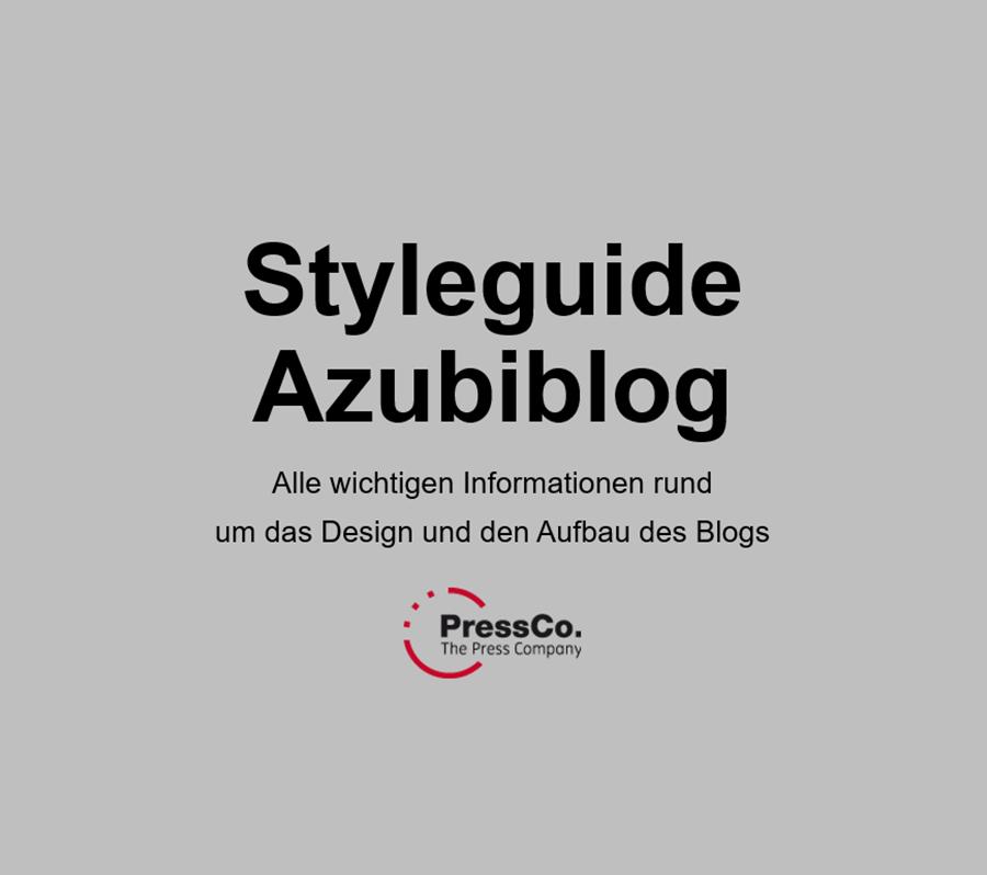 Foto Styleguide Azubiblock